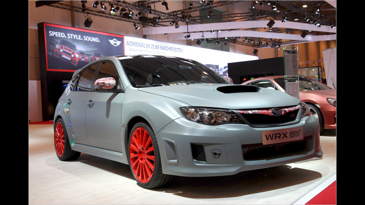 Subaru WRX STi Fünftürer