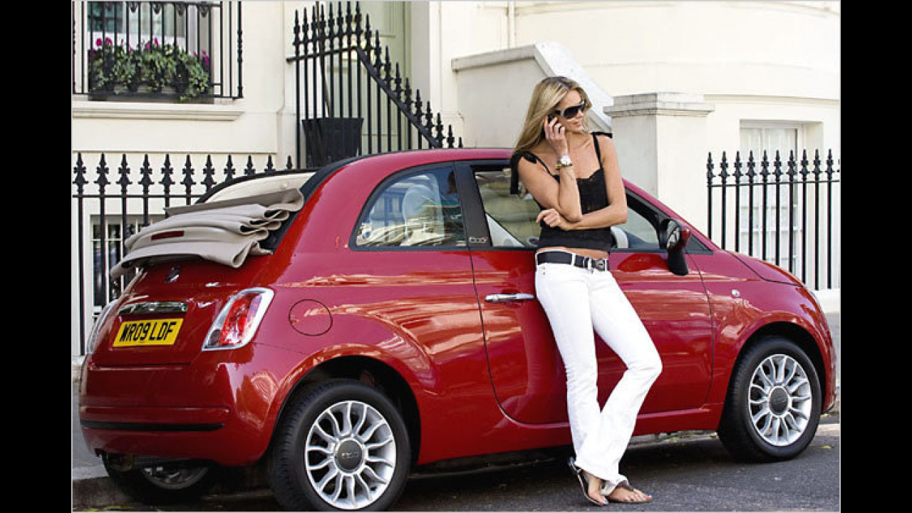 Elle MacPherson: Fiat 500C