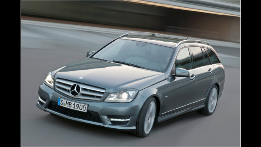 Facelift und neues Armaturenbrett für die Mercedes C-Klasse