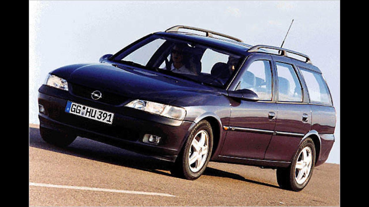 Platz 7: Opel Vectra (2,9 Prozent)