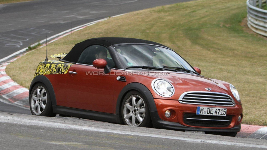 2012 MINI Roadster and Coupe spied on Nürburgring for first time
