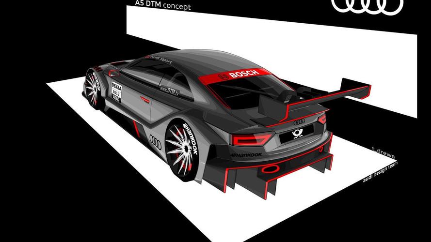 Audi A5 DTM concept previewed