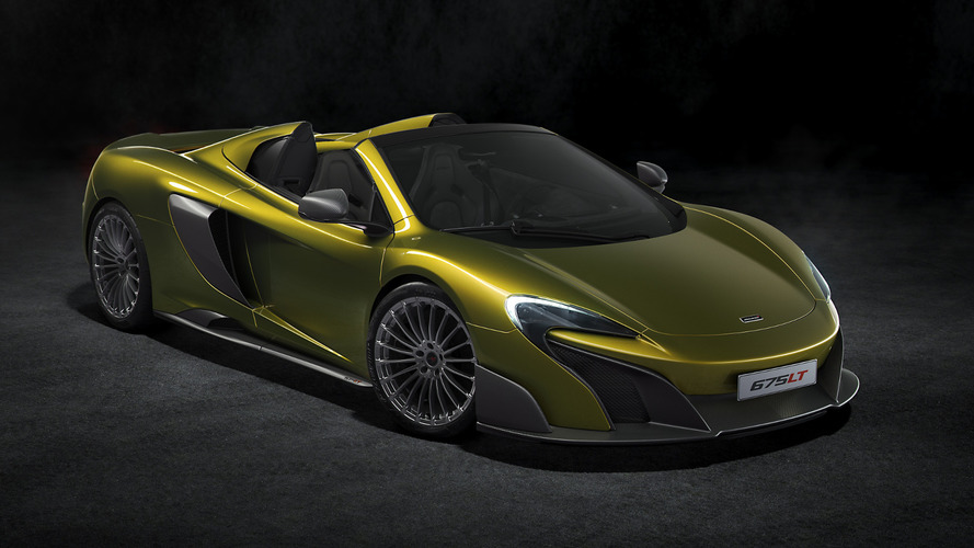 McLaren 675LT Spider revealed with £285,450 price tag