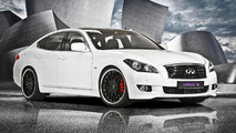 German dealer tunes the Infiniti M30d S