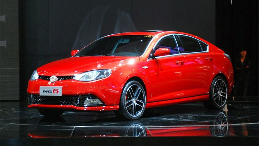 MG6 Unveiled at Auto Shanghai