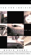 Spyker C8 Aileron Geneva teaser 2009