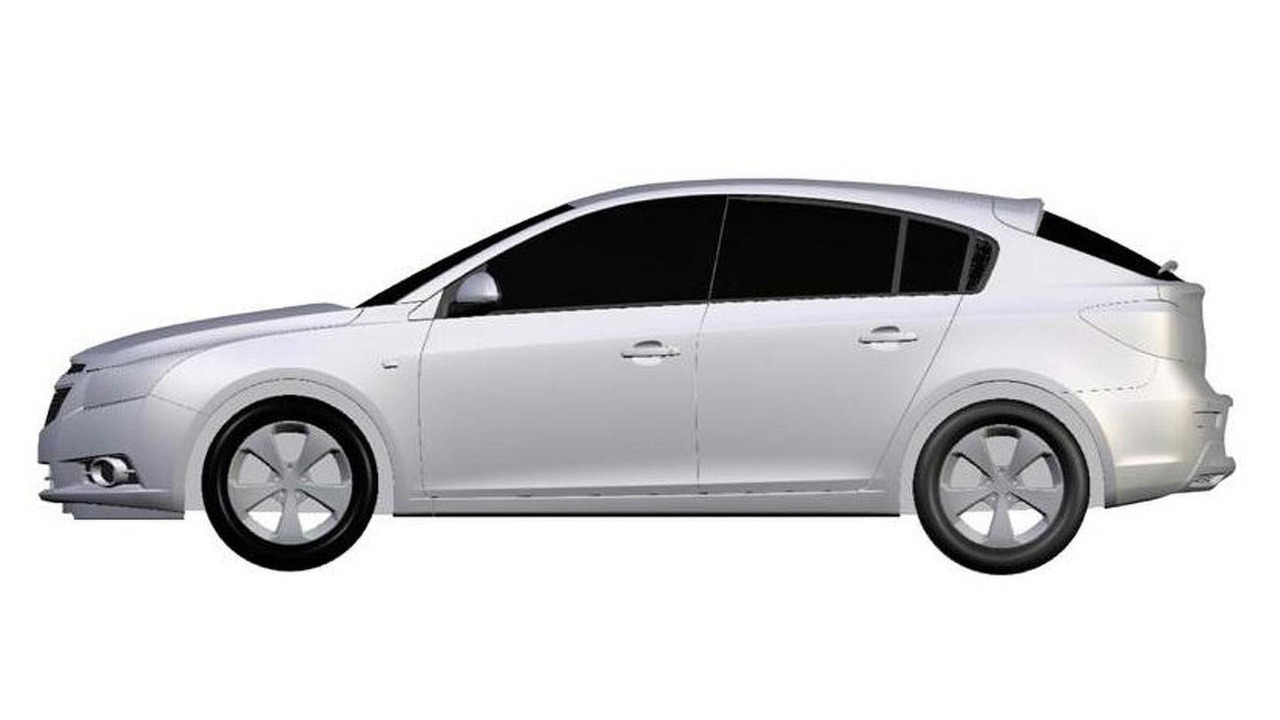 Chevrolet Cruze patent renderings - 12.29.2010