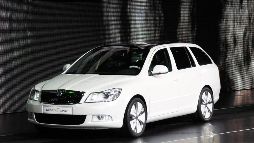 Skoda Octavia Green E Line Concept released