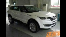 Clone do Evoque, Landwind E32 é flagrado sem camuflagem