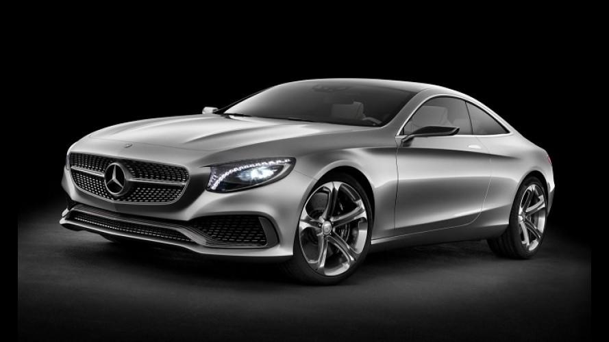 Mercedes diz que Classe S Coupé de produção será muito fiel ao conceito