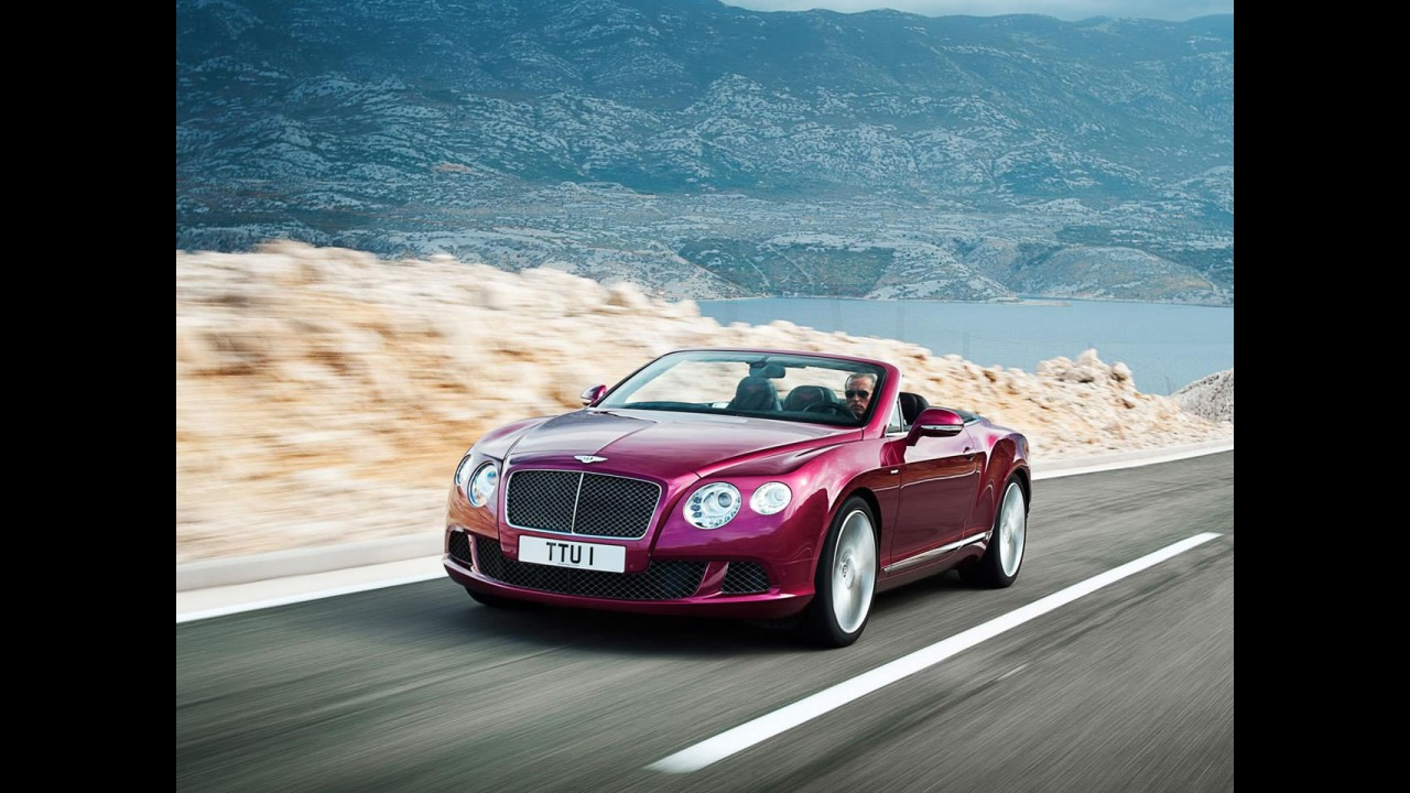 Fotos do Bentley Continental GT Speed Conversível 2013 vazam na web