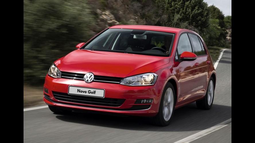 Volkswagen monta primeira carroceria do novo Golf no Brasil