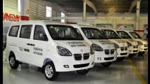 Mais chineses: Shineray entrega vans para Ministério da Saúde