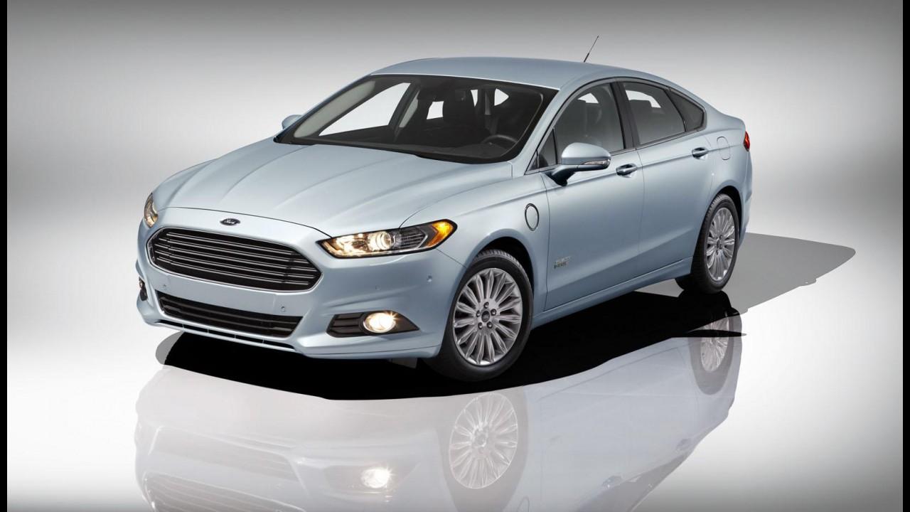Ford anuncia Fusion Energi e promete consumo combinado de 42,5 km/l