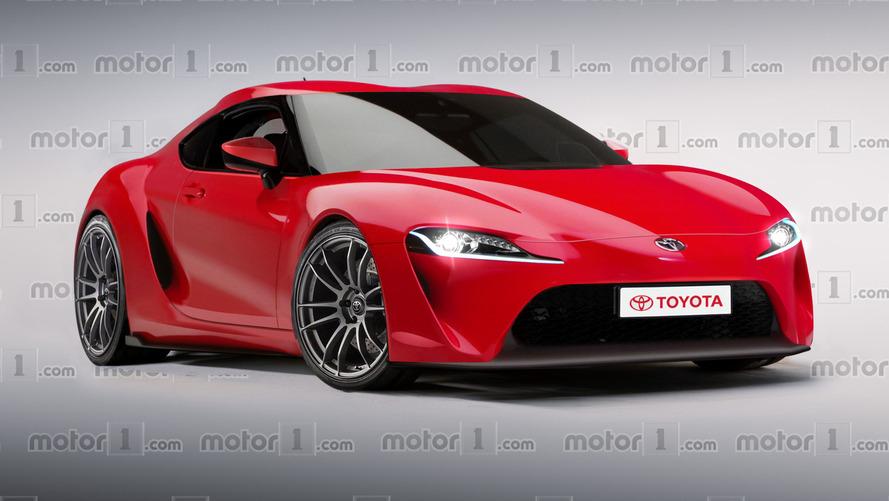 Toyota Supra 2018 - Un dessin réaliste