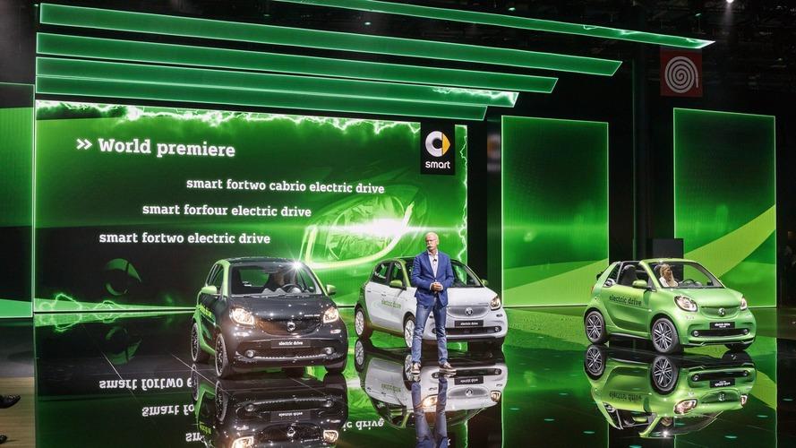 Nouvelles Smart électriques - A partir de...