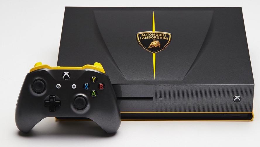 Des consoles Xbox One aux couleurs d'Audi, Ford et Lamborghini !
