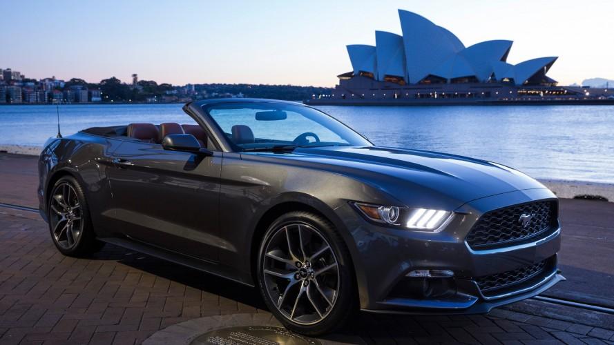 2018 Ford Mustang'e 10 ileri otomatik vites mi geliyor?