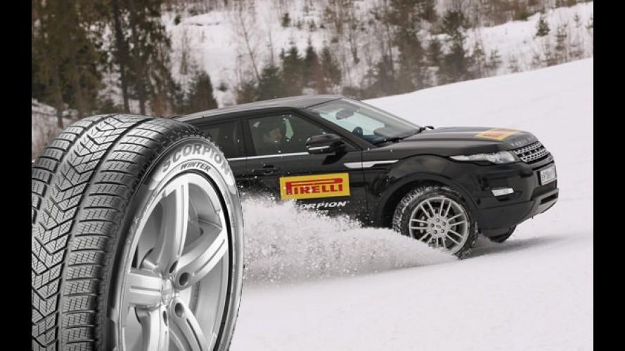 Pirelli ve Shell Kış Kampanyasıyla Herkesi Kış Lastiği Kullanmaya Çağırıyor