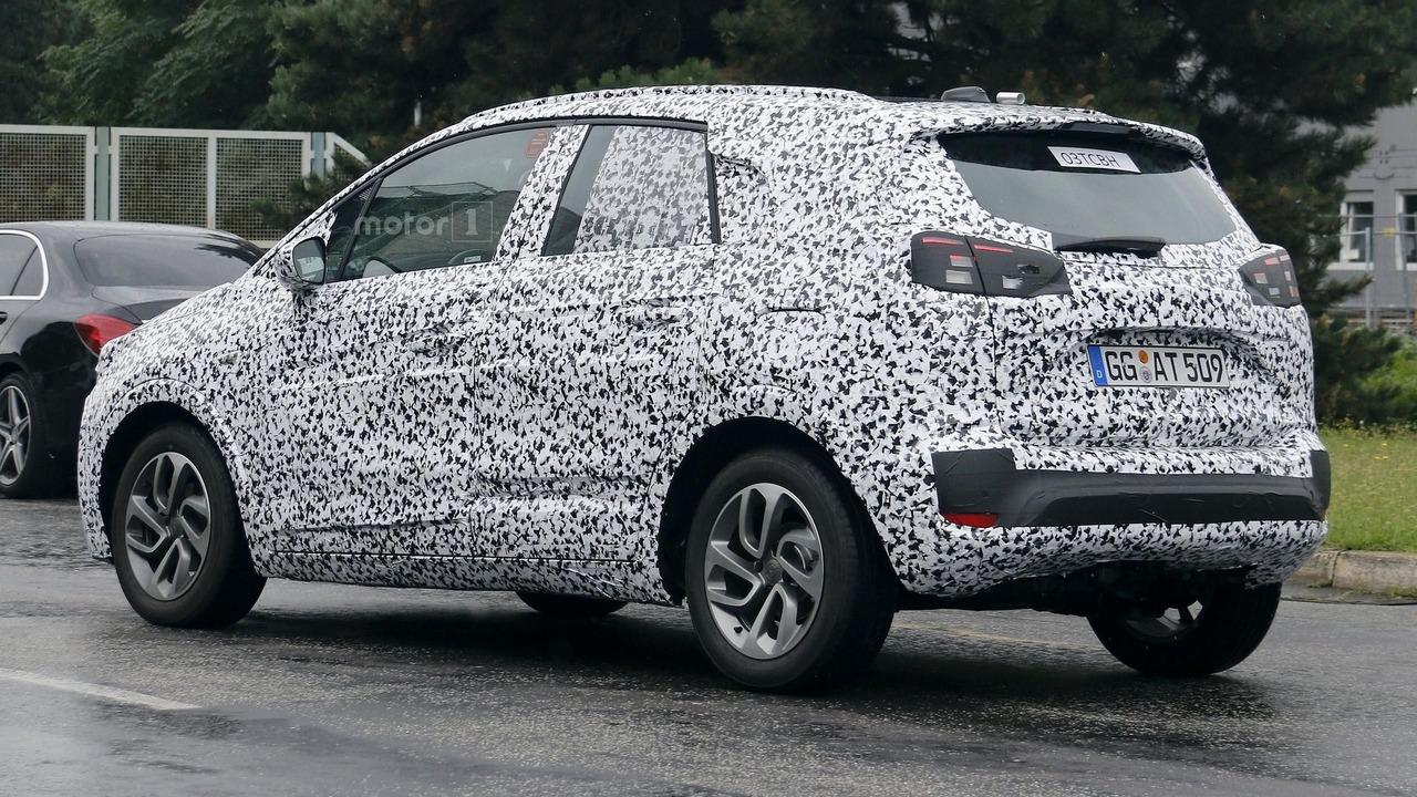 Opel Meriva 2017 photos espion