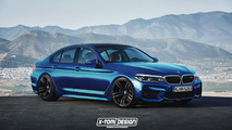 2017 BMW 5 Series Renderings