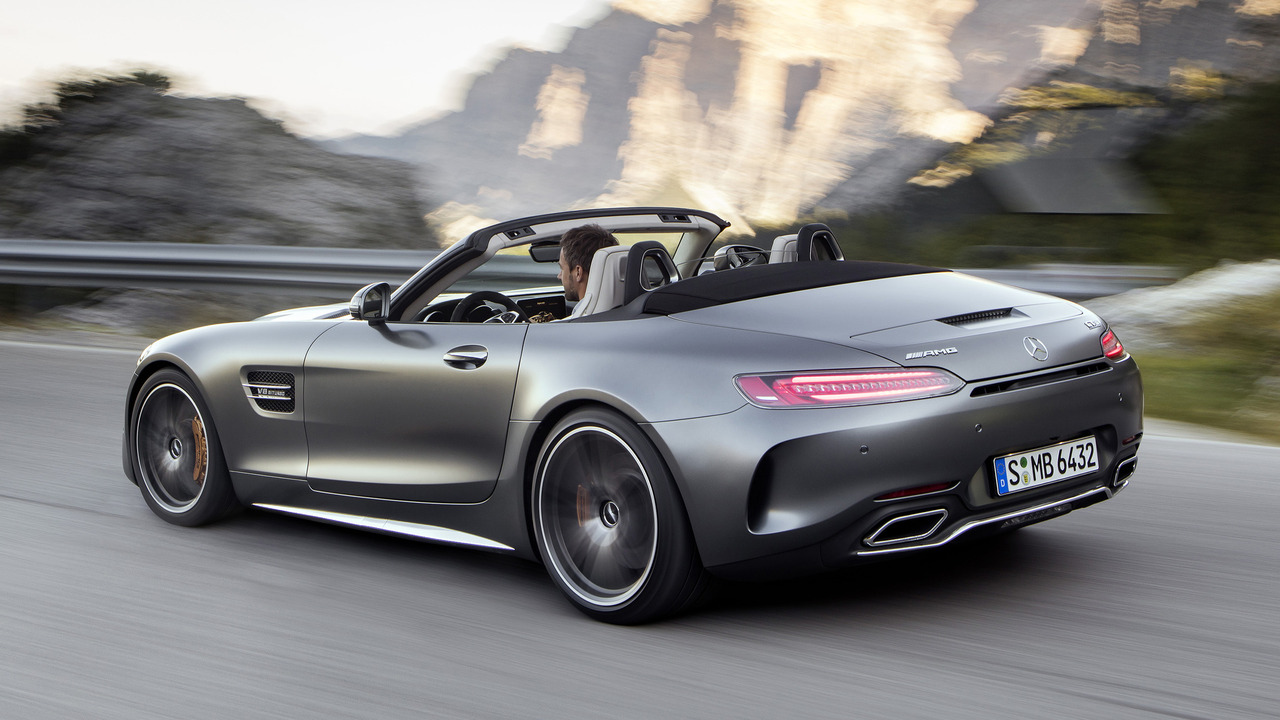 2018 Mercedes Amg Gt Roadster Photo