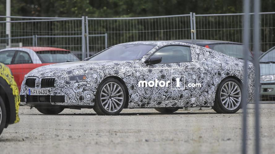 Geri dönen BMW 8 Serisi'nin ilk casus fotoğrafları