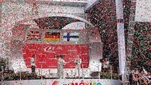 Podium: Lewis Hamilton, Mercedes AMG F