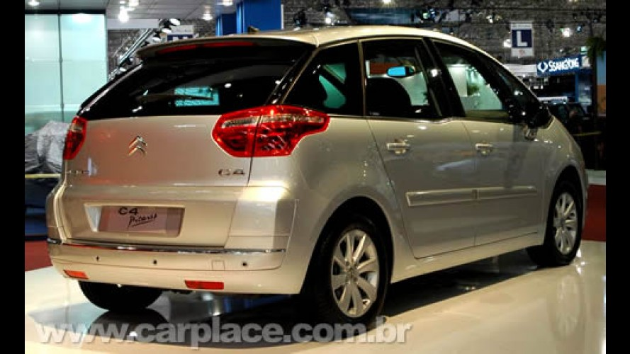 Nova Citroën C4 Picasso de 5 lugares chega dia 27 - Preço estimado: R$ 80mil