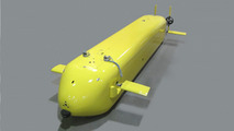 U.S. Navy unmanned undersea vehicle