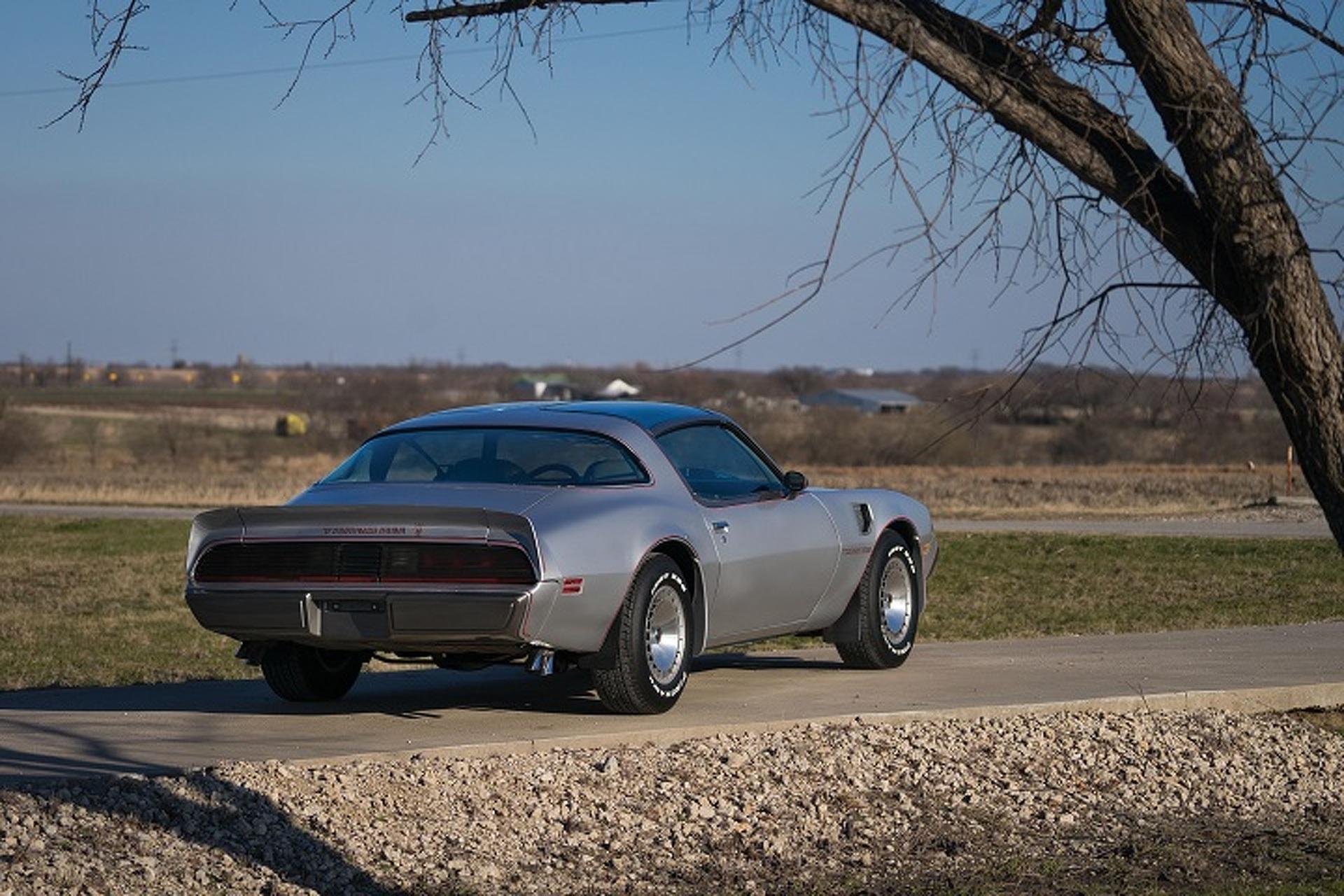 Rare 10th Anniversary 1979 Pontiac Firebird Trans Am Going to Auction