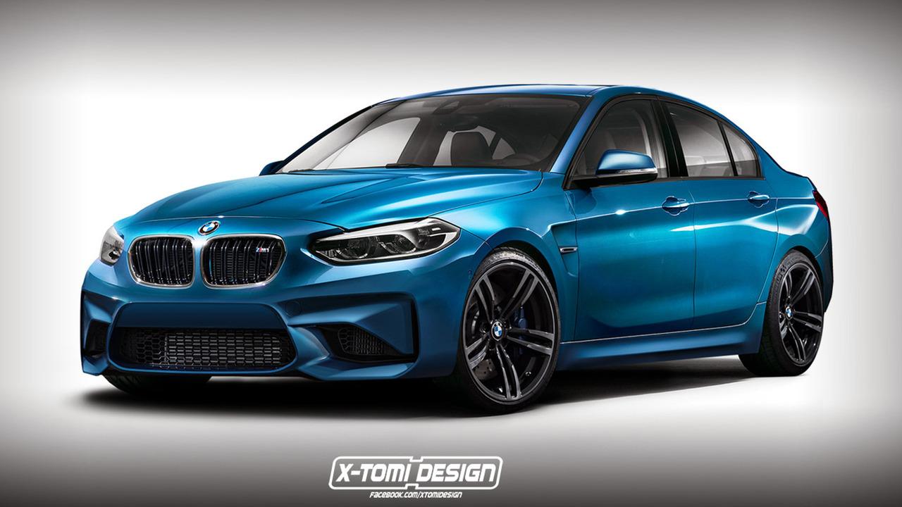 BMW M1 Sedan rendering