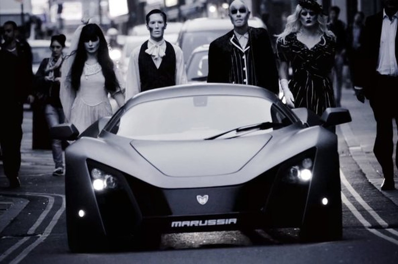 Marussia Zombifies London With Their New B2 Ad