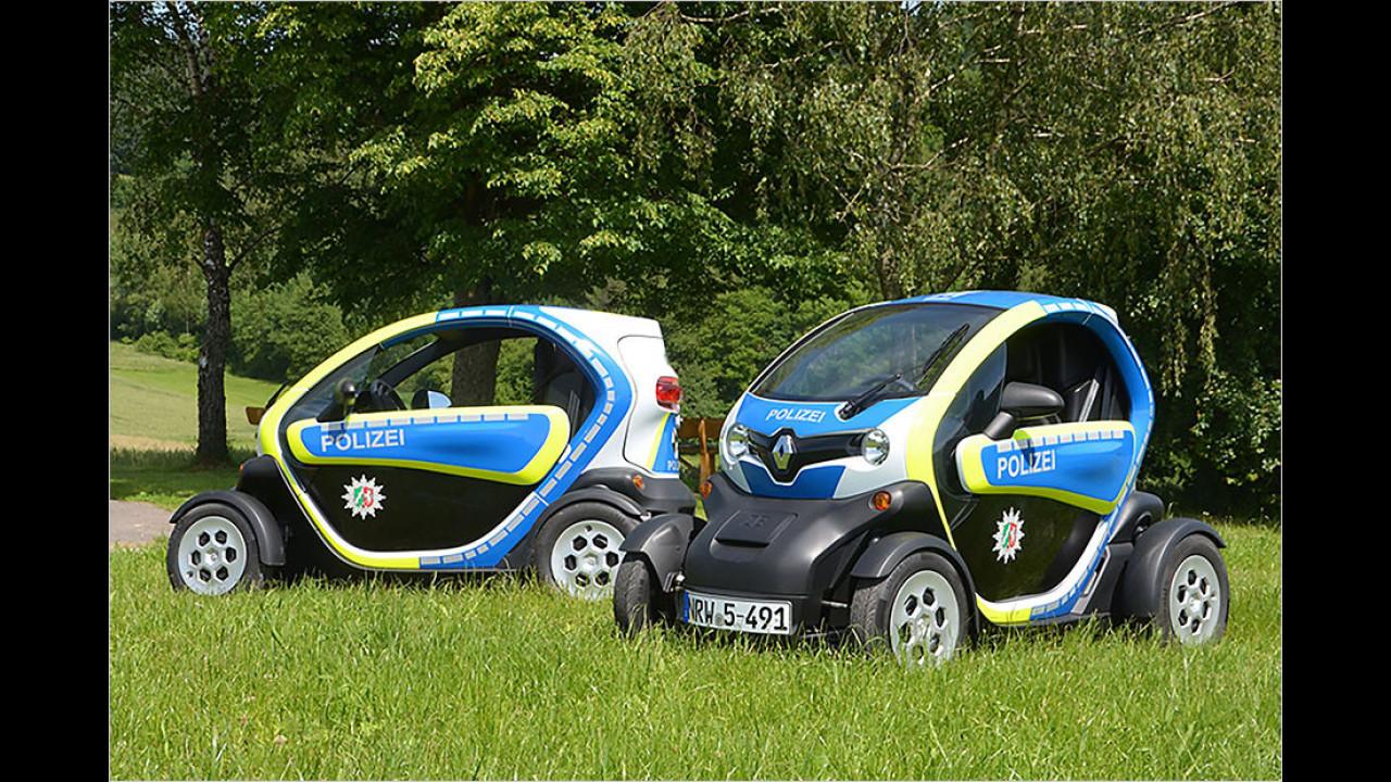 Renault Twizy Polizei