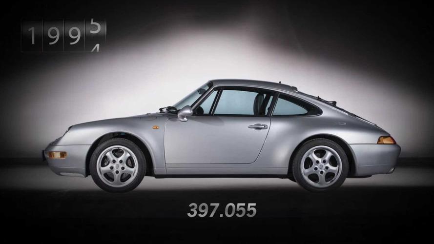 VIDÉO - Découvrez l'évolution de la Porsche 911