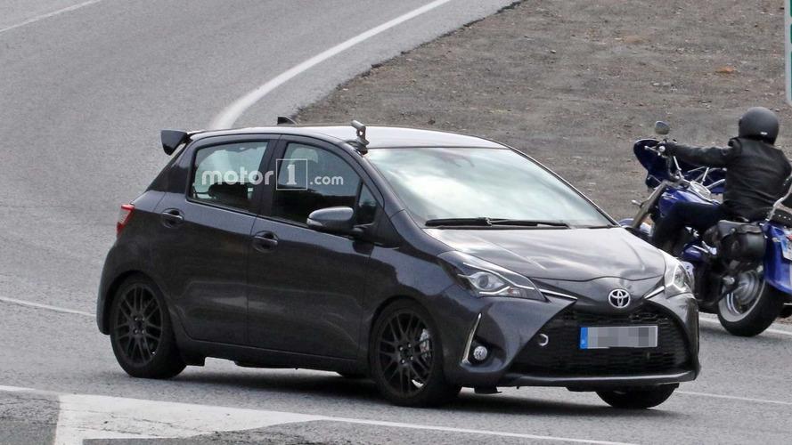 Toyota Yaris GRMN cinq portes spy photos