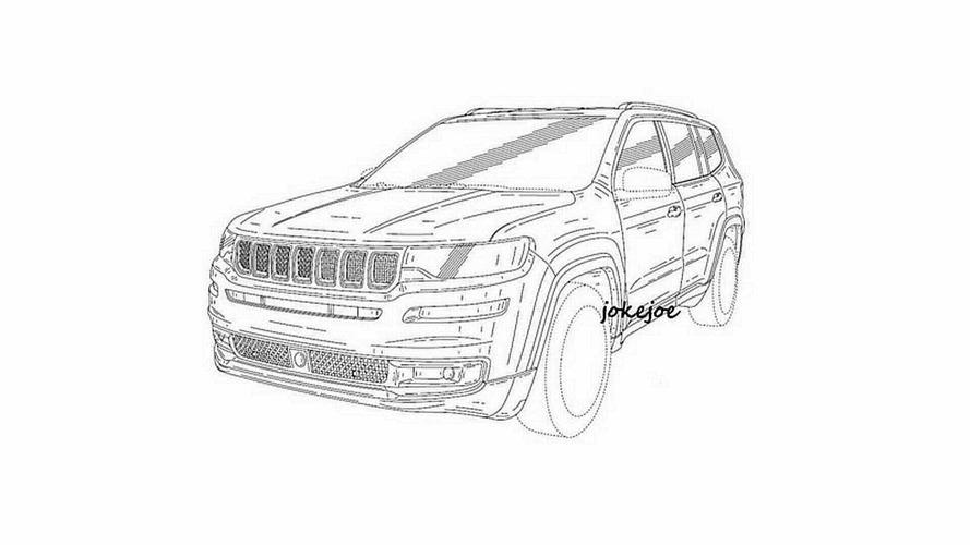 Vazou! - Novo Jeep Commander aparece em imagens de patente