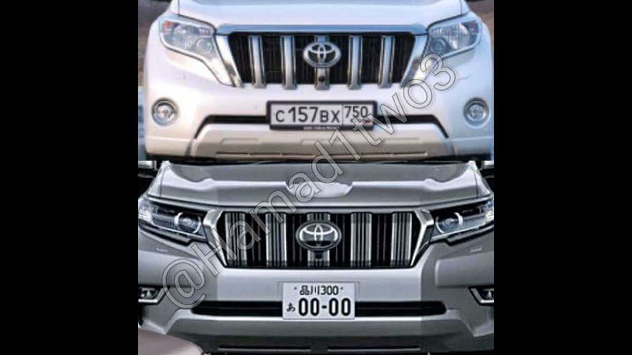 Makyajlı 2018 Toyota Land Cruiser Prado sızdı