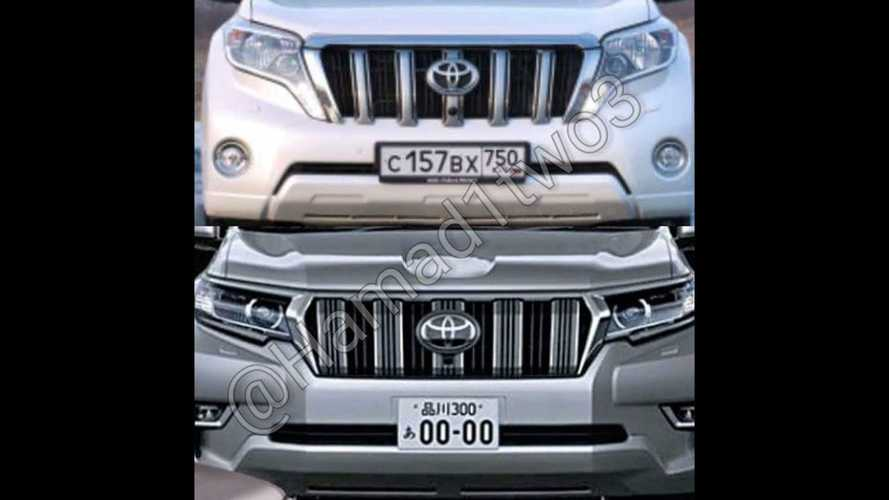 2018 Toyota Land Cruiser Prado facelift leaked official images