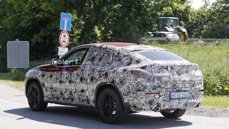 2019 BMW X4 yeni casus fotoğraflar