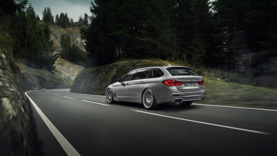 Alpina B5 Biturbo Touring - Un break de 608 ch !