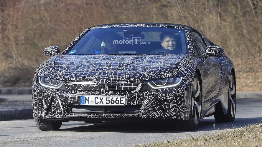 BMW teases drop-top i8 Roadster ahead of LA show