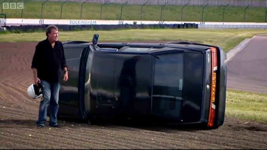 10 Times The Top Gear Crew Crashed Like Pros