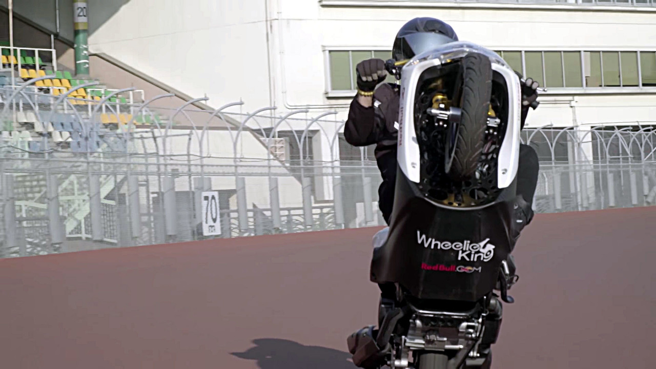 World wheelie record