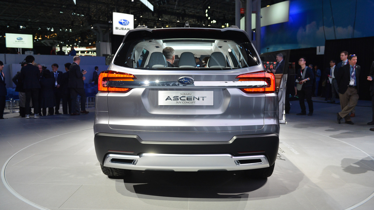 New Subaru Ascent Concept  New York 2017 Photo