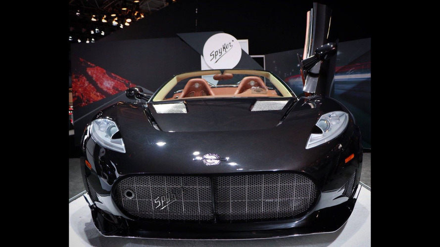 Spyker C8 Preliator Spyder Graces New York For U.S. Debut