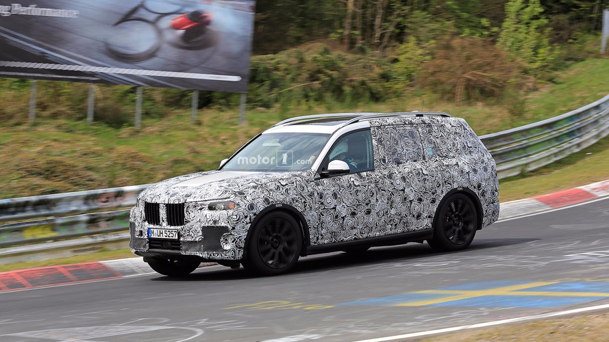 BMW X7 2019: con pila de combustible