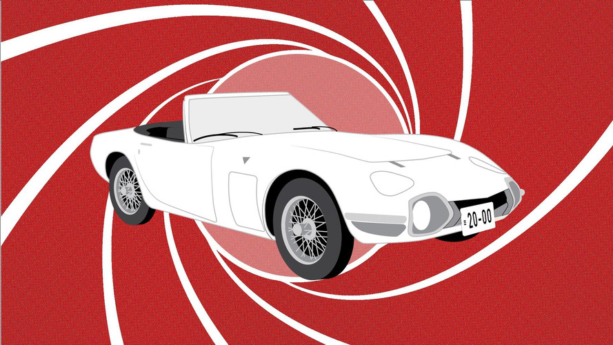 Toyota 2000GT Celebrates 50 Years As James Bond's Sexy Spy Car