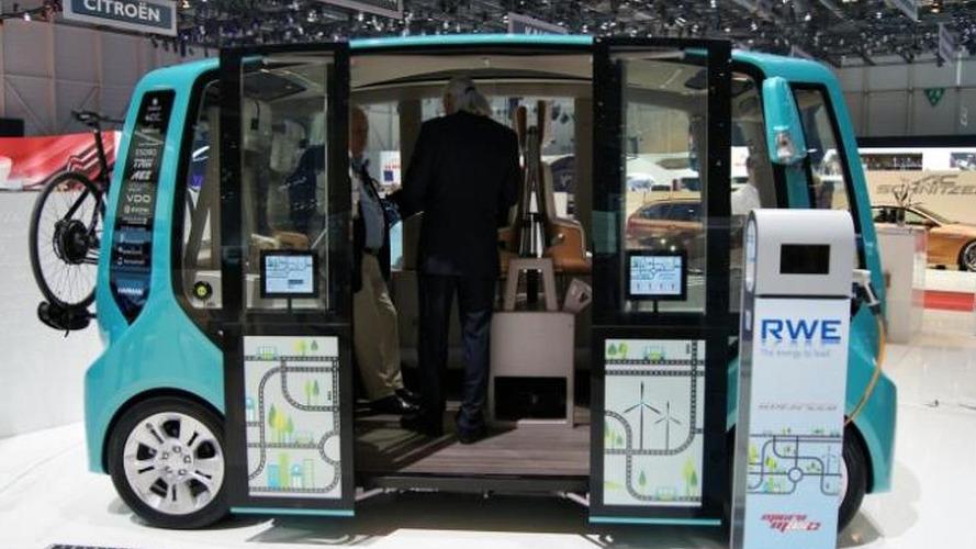 Rinspeed microMAX arrives in Geneva