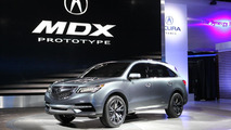 Acura MDX concept officially unveiled in Detroit